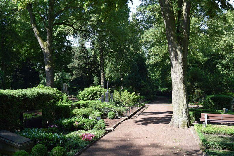 Friedhof Wiedenbrück Alter Teil