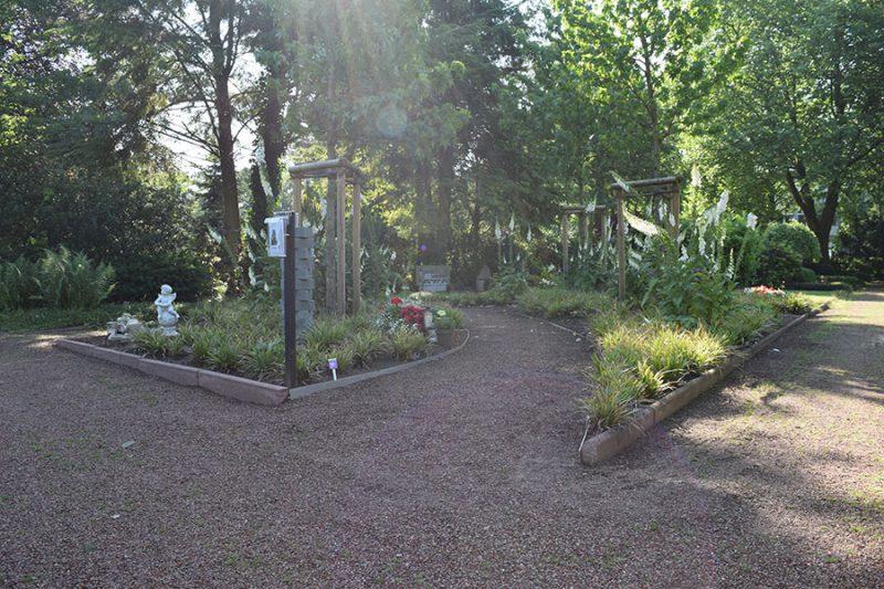 Friedhof Wiedenbrück Baumfeld - naturnahe Bestattung an einem Baum