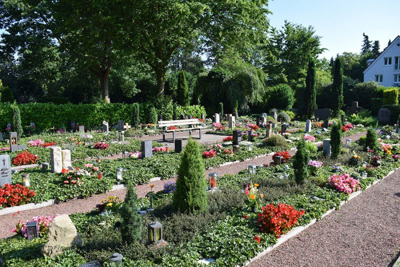 Friedhof Wiedenbrück Urnen Reihengräber