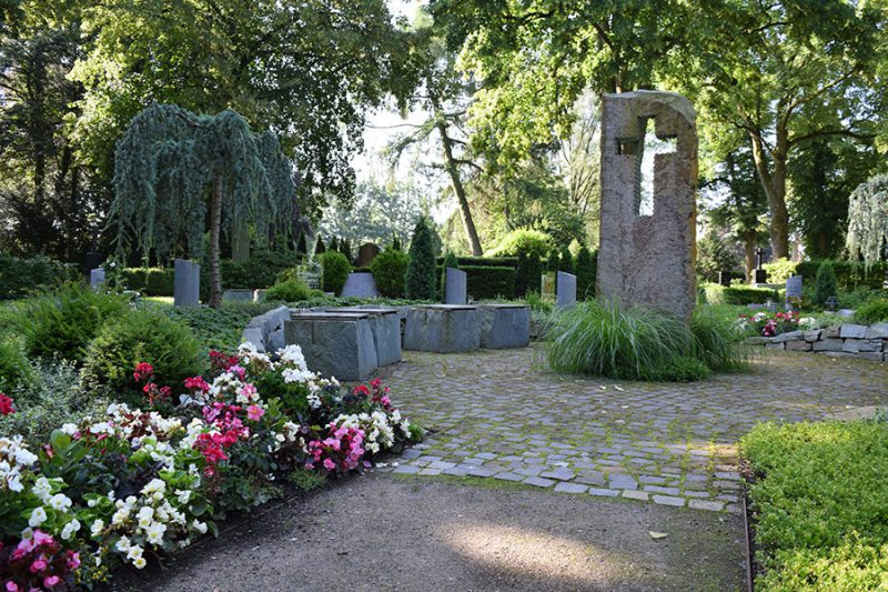 Friedhof Wiedenbrück Memoriam Garten